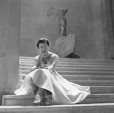 Photograph - Lana Turner At The Louvre by Archive Photos