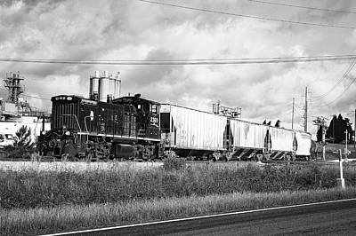 Photograph -  Lancaster And Chester Rr Mp15dc B W 3 by Joseph C Hinson Photography
