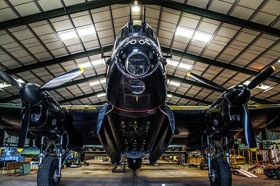Photograph - Lancaster Bomber Just Jane by Scott Lyons