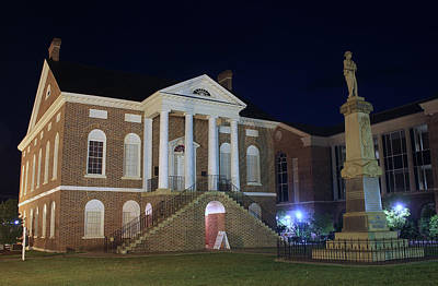 Photograph - Lancaster County Court House Night 21 by Joseph C Hinson Photography