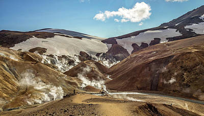 Photograph - Landmannalaugar-iceland by Usha Peddamatham