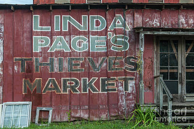 Photograph - Landmark Market by Dale Powell
