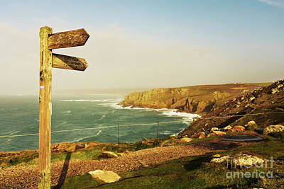 Photograph - Land's End To Sennen Cove Coast Path by Terri Waters