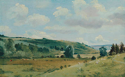 Painting - Landscape, 1849-1855 by Lionel Constable