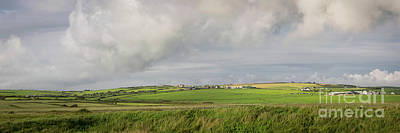 Photograph - Landscape And Clouds In Ireland by Doug Koski