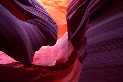 Photograph - Landscape Image Of Lower Antelope by Justinreznick