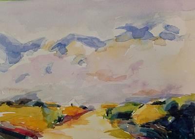 Painting - Landscape  by Jo Mackenzie
