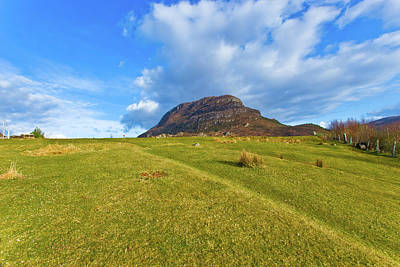 Torridon Wall Art - Photograph - Landscape Near The Little Town On The by Maremagnum