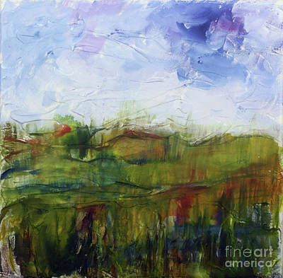Painting - Landscape Study by Donna Walsh