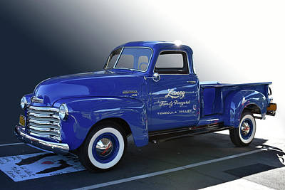 Photograph - Laney Chevy by Bill Dutting