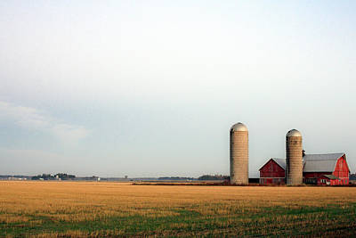 Photograph - Langlade County Farm by Todd Klassy