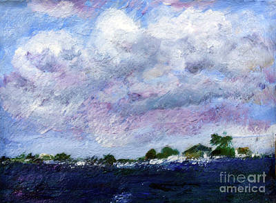 Painting - Lantana Intracoastal by Donna Walsh