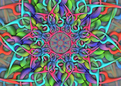 Digital Art - Lar Remix by Vitaly Mishurovsky
