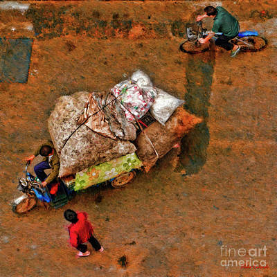 Photograph - Large Load From Above by Blake Richards