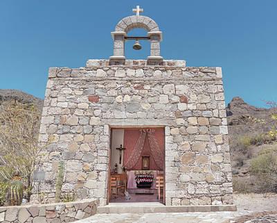 Photograph - Las Parras Chapel by Annie Omens