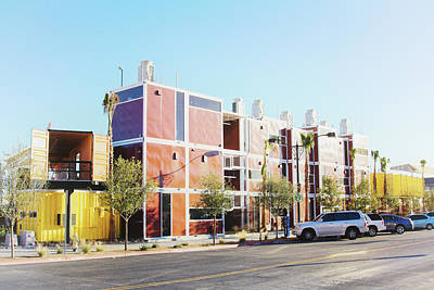 Photograph - Las Vegas Container Park by Tatiana Travelways