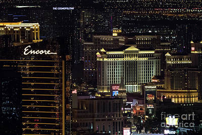 Photograph - Las Vegas View From Stratosphere 2 by Sanjeev Singhal