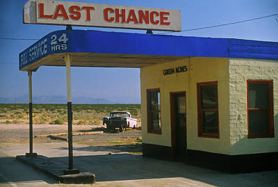 Photograph - Last Chance Full Service Gas Station by Education Images/uig