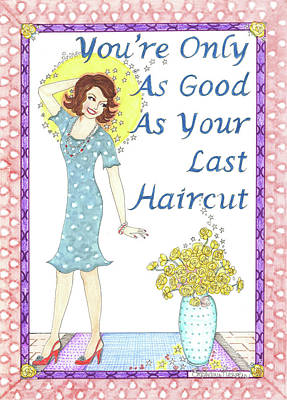 Mixed Media - Last Haircut by Stephanie Hessler