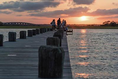 Photograph - Last Light Fishing by Kristopher Schoenleber