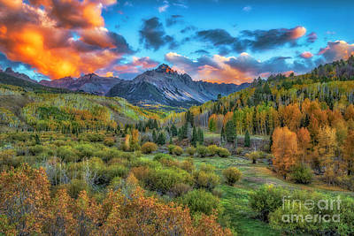 Photograph - Last Light Mount Sneffels by Bitter Buffalo Photography