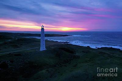 Photograph - Last Light - Tasmania by Jonathan Painter