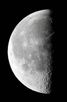Photograph - Last Quarter Moon by Christophe Lehenaff