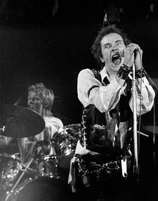 Performance Photograph - Last Sex Pistols Concert by Michael Ochs Archives