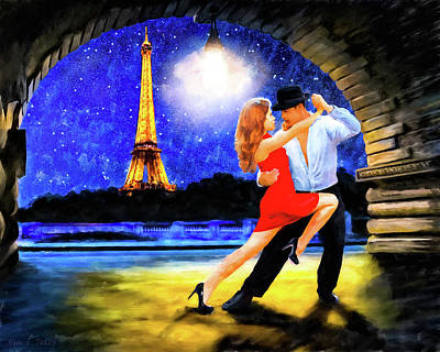 Mixed Media - Last Tango In Paris by Mark Tisdale