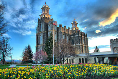 Photograph - Late Afternoon At The Logan Temple by Adam Jewell