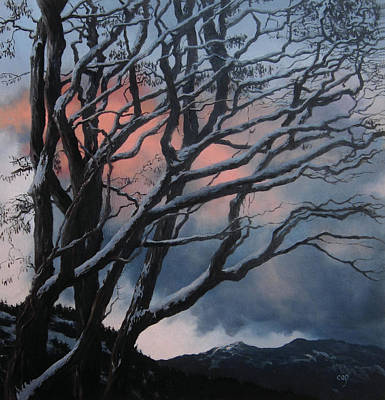 Painting - Late in the Day, Late in the Year by Carol Phenix