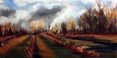 Painting - Late Winter by Sarah Lynch