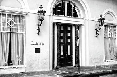Photograph - Latrobe's New Orleans Infrared by John Rizzuto