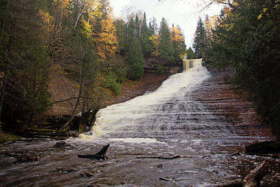 Photograph - Laughing Whitefish Falls - Michigan by Rick Veldman