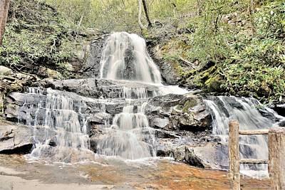 Photograph - Laurel Falls by Merle Grenz