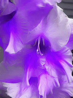 Greenstein Digital Art - Lavandela by Cindy Greenstein