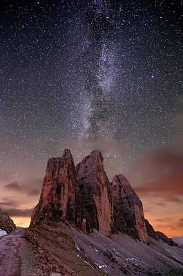 Photograph - Lavaredo by Inigo Cia