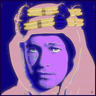Digital Art - Lawrence Of Arabia by Gary Grayson