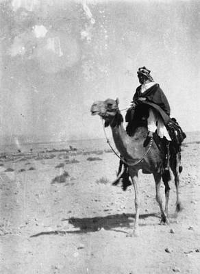 Photograph - Lawrence Of Arabia by Hulton Archive