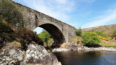 Photograph - Laxford Bridge by Nicholas Blackwell