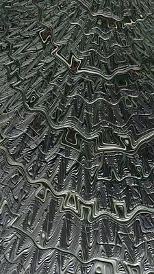 Digital Art - Layer Foil Fractal by Cindy Boyd