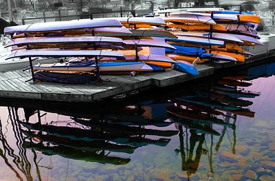 Photograph - Layers And Layers By The Water by Geraldine Gracia