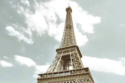Photograph - Le 85 Tour Eiffel Watercolor by JAMART Photography
