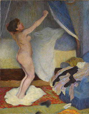 Painting - Le Lever. Femme S'etirant by Federico Zandomeneghi