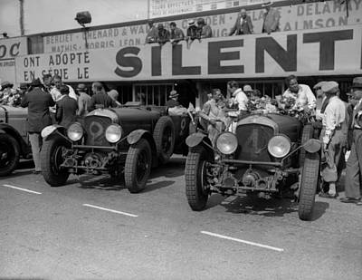 Photograph - Le Mans Teams by Fox Photos