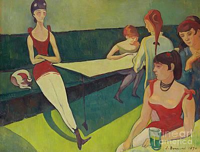 Painting - Le Salon by Emile Bernard