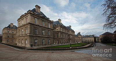 Palais Du Luxembourg Wall Art - Photograph - Le Senat Palais Du Luxembourg by Lumiere De Liesse Ltd Images of Robert L Lease