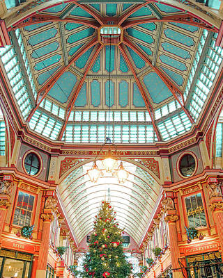 Photograph - Leadenhall Market by Gabor Estefan