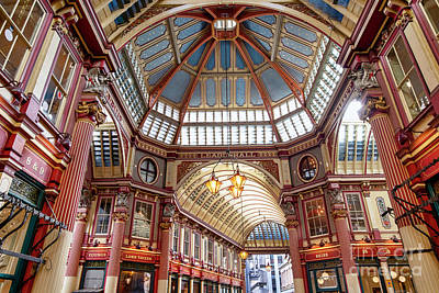 Photograph - Leadenhall Market by Tim Gainey