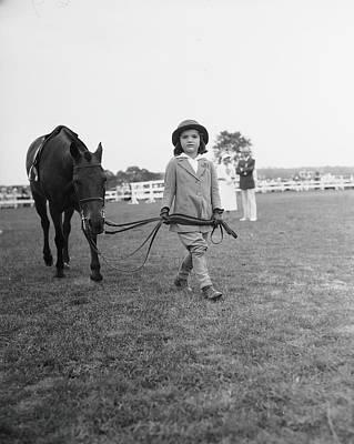 Photograph - Leading Buddy Astray by Bert Morgan